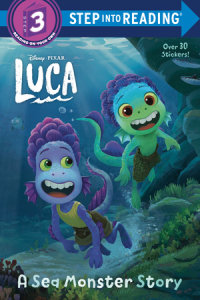 Cover of A Sea Monster Story (Disney/Pixar Luca) cover