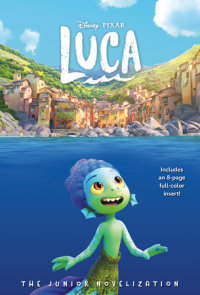 Book cover for Disney/Pixar Luca: The Junior Novelization (Disney/Pixar Luca))