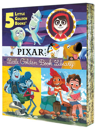 Pixar Little Golden Book Library (Disney/Pixar)