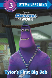 Cover of Tylor\'s First Big Job (Disney Monsters at Work) cover