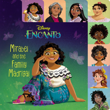 Mirabel and the Family Madrigal (Disney Encanto)