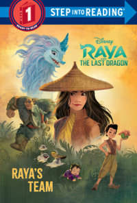 Cover of Raya\'s Team (Disney Raya and the Last Dragon) cover