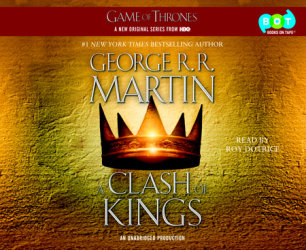 A Clash of Kings by George R  R  Martin | Books on Tape