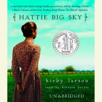 Cover of Hattie Big Sky cover