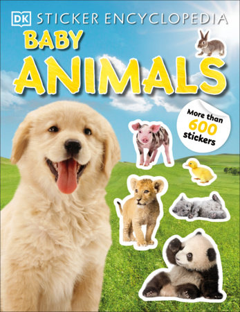 Sticker Encyclopedia Baby Animals