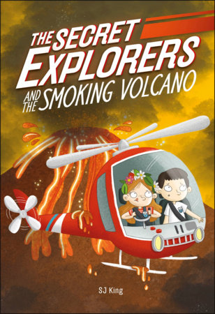 The Secret Explorers and the Smoking Volcano (Library Edition)