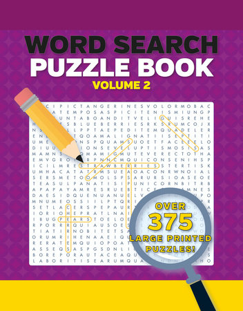 Word Search Puzzles Large Print Volume 2 2nd Edition