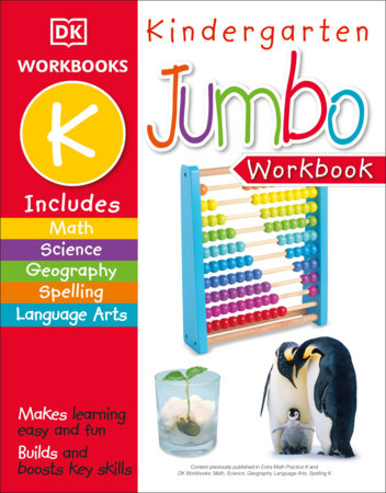 Jumbo Kindergarten Workbook