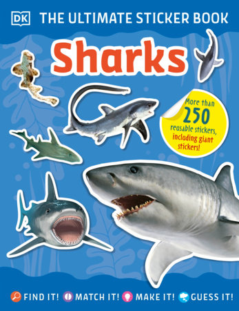 The Ultimate Sticker Book Sharks