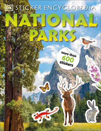 Sticker Encyclopedia National Parks