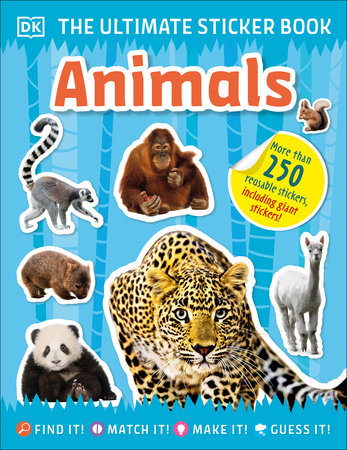 The Ultimate Sticker Book Animals