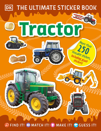 The Ultimate Sticker Book Tractor