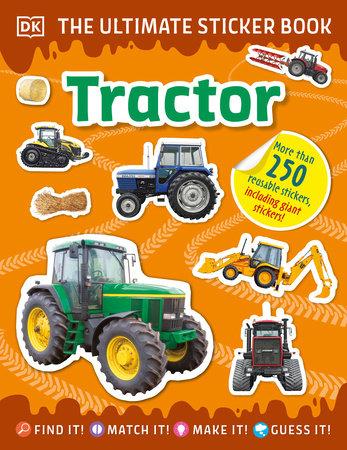 The Ultimate Sticker Book Tractor