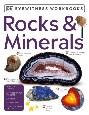 Eyewitness Workbooks Rocks & Minerals