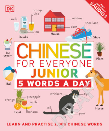 Chinese for Everyone Junior 5 Words a Day