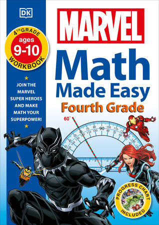 Marvel Math Made Easy, Fourth Grade
