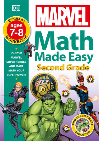 Marvel Math Made Easy, Second Grade