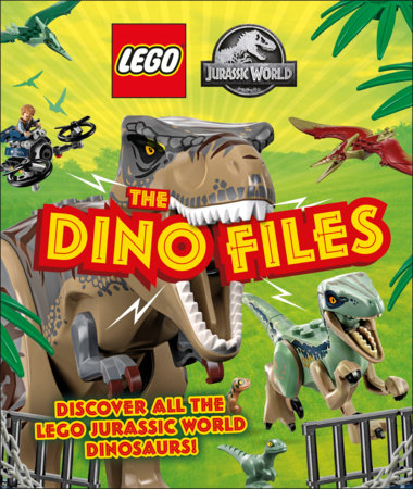 LEGO Jurassic World The Dino Files (Library Edition)