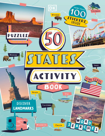 50 States Ultimate Activity Book