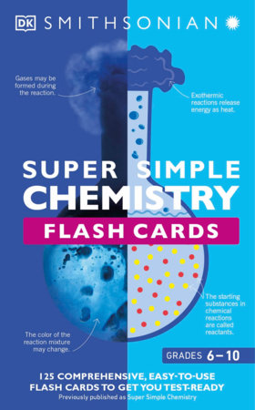 Super Simple Chemistry Flash Cards