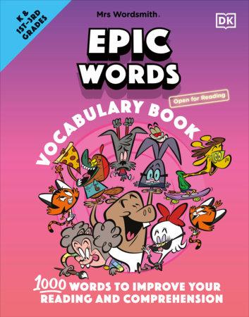 Mrs Wordsmith Epic Words Vocabulary Book, Kindergarten & Grades 1-3