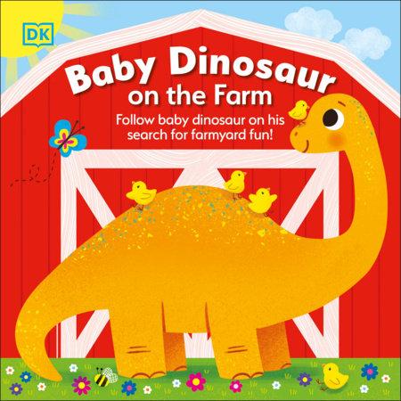 Baby Dinosaur on the Farm