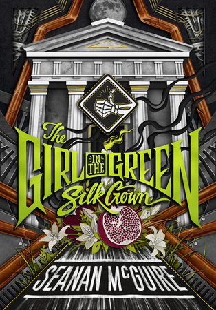 Cover image for The Girl in the Green Silk Gown