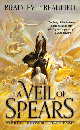 Cover image for A Veil of Spears