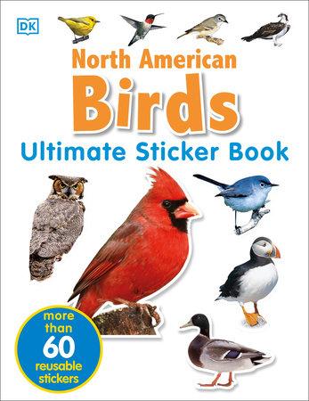 Ultimate Sticker Book: North American Birds