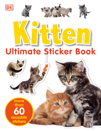 Ultimate Sticker Book: Kitten