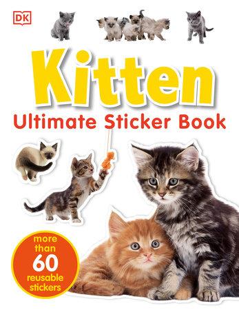 Ultimate Sticker Book: Kitten