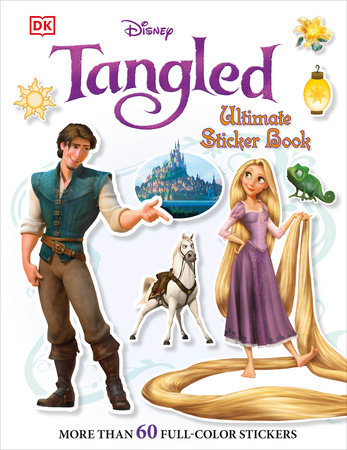 Ultimate Sticker Book: Tangled
