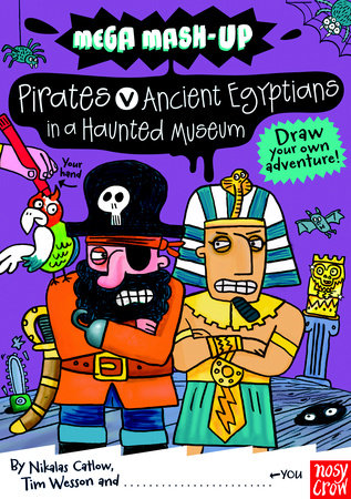Mega Mash-Up: Ancient Egyptians vs. Pirates in a Haunted Museum