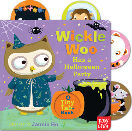 Wickle Woo Has a Halloween Party