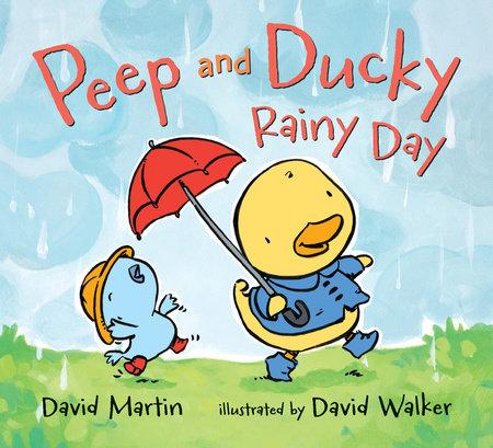 Peep and Ducky Rainy Day