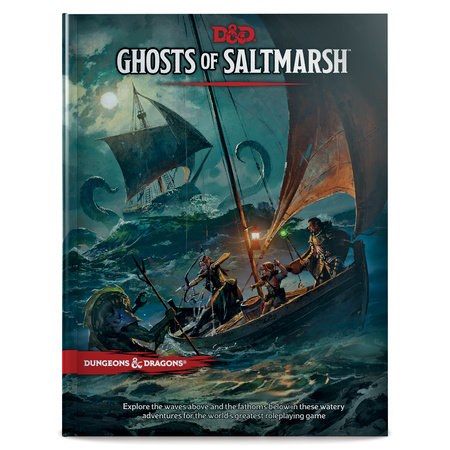 Dungeons & Dragons Ghosts of Saltmarsh Hardcover Book (D&D Adventure)