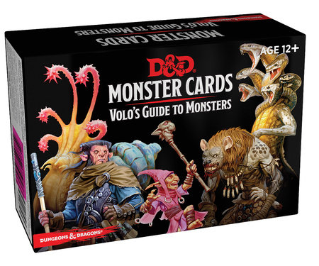 Dungeons & Dragons Spellbook Cards: Volo's Guide to Monsters (Monster Cards, D&D Accessory)