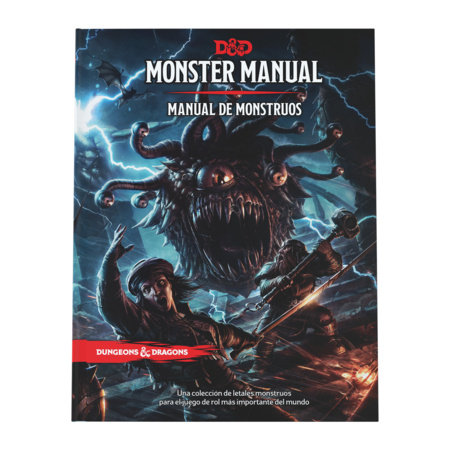 Monster Manual: Manual de Monstruos de Dungeons & Dragons (reglamento básico del  juego de rol D&D)