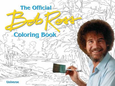 The Bob Ross Coloring Book - Author Bob Ross