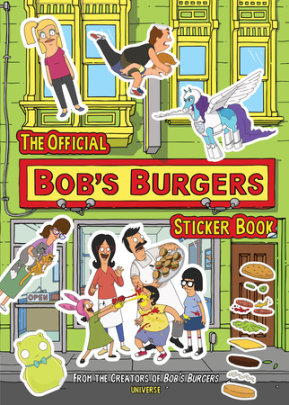 The Official Bob's Burgers Sticker Book - Written by 20th Century Fox