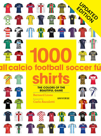 1000 Football Shirts Updated Edition