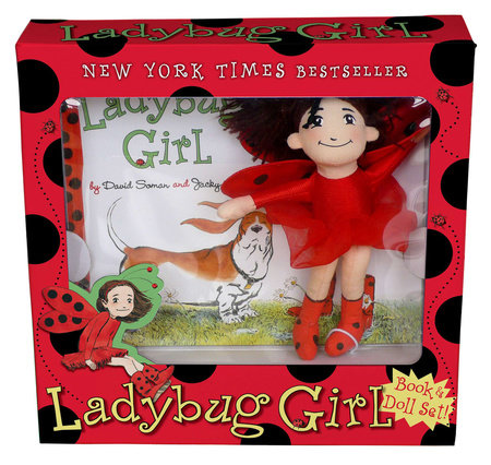Ladybug Girl Book & Doll Set