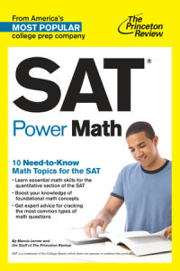 Book cover for SAT Power Math