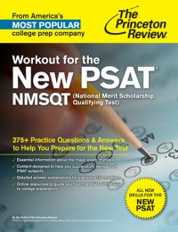 Book cover for Workout for the New PSAT/NMSQT