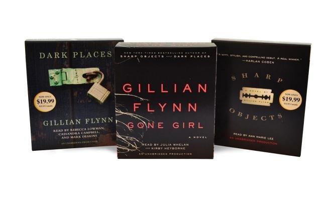 Gillian Flynn CD Audiobook Bundle