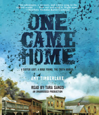 Cover of One Came Home cover