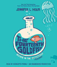 Cover of The Fourteenth Goldfish cover