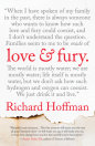 Book cover for Love and Fury