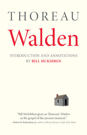 Walden: With an Introduction and Annotations by Bill McKibben