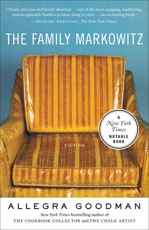 The Family Markowitz book cover